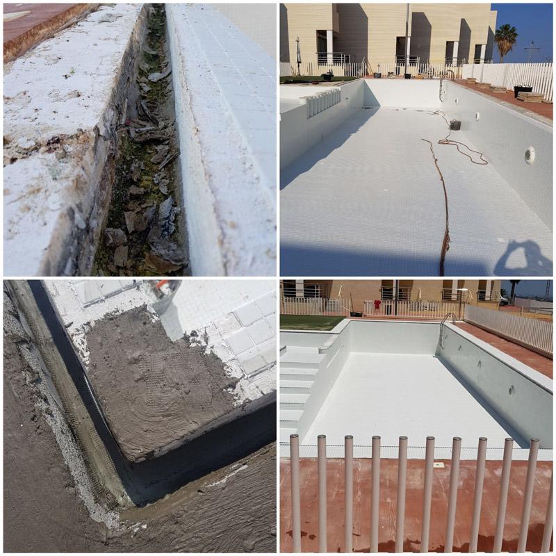 Reparación de fugas en piscina