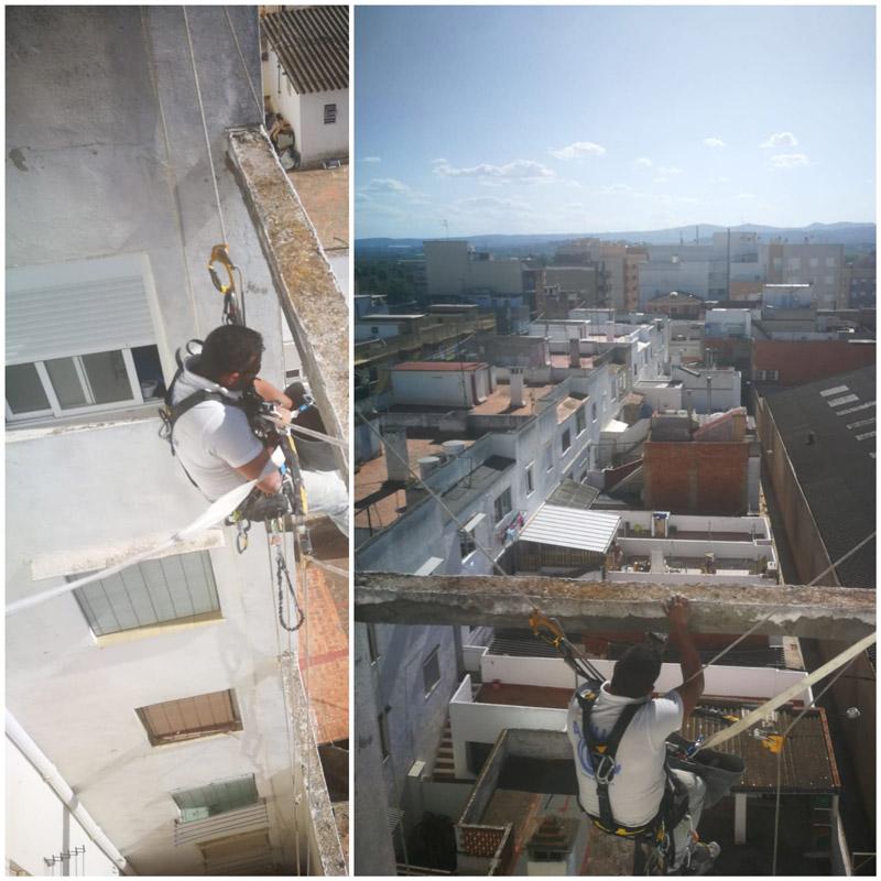 Reparaciones estructurales de difícil acceso